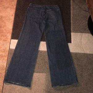 Michael Kors wide leg palazzo jean size 8